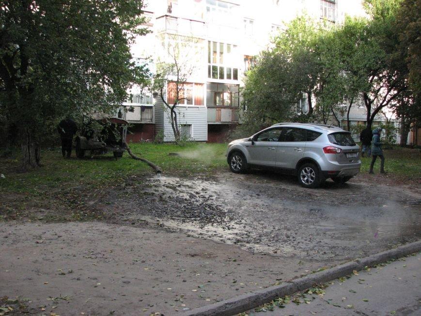Проспект Победы залил кипяток (ФОТО), фото-8