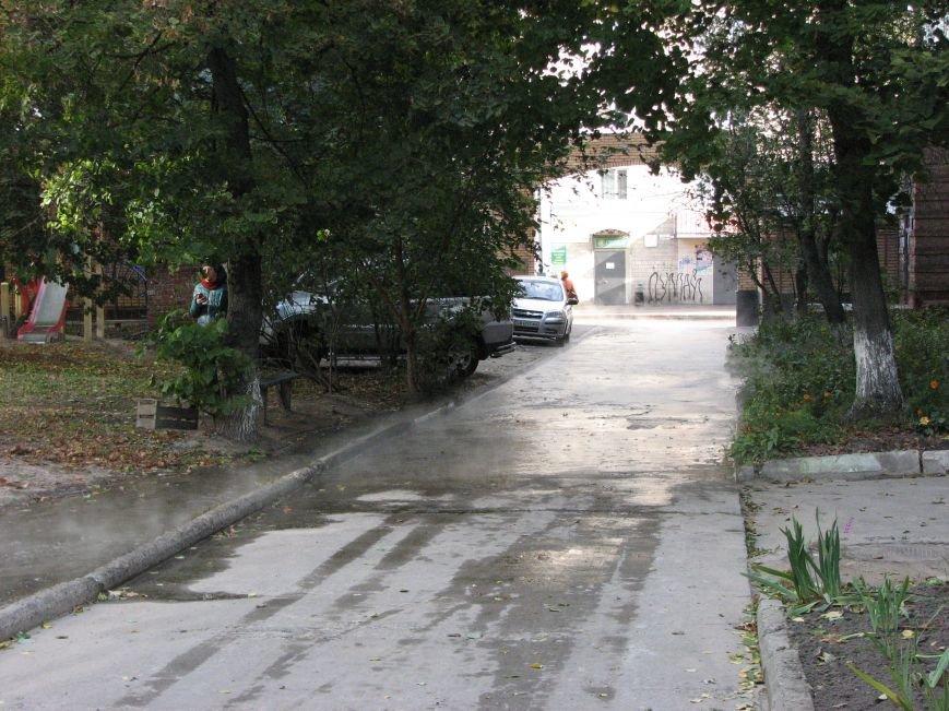Проспект Победы залил кипяток (ФОТО), фото-9