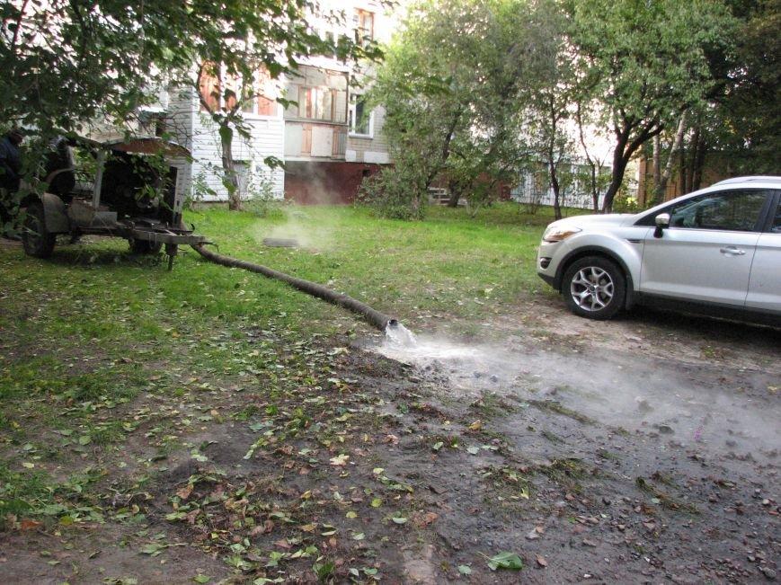 Проспект Победы залил кипяток (ФОТО), фото-6