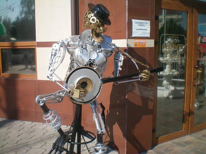 В Херсоне творит сварщик-скульптор, фото-1