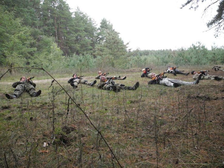 Гражданский Корпус Азов начал сезон военных учений (ФОТО), фото-8