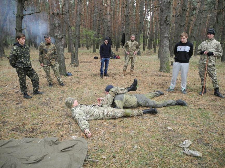 Гражданский Корпус Азов начал сезон военных учений (ФОТО), фото-1