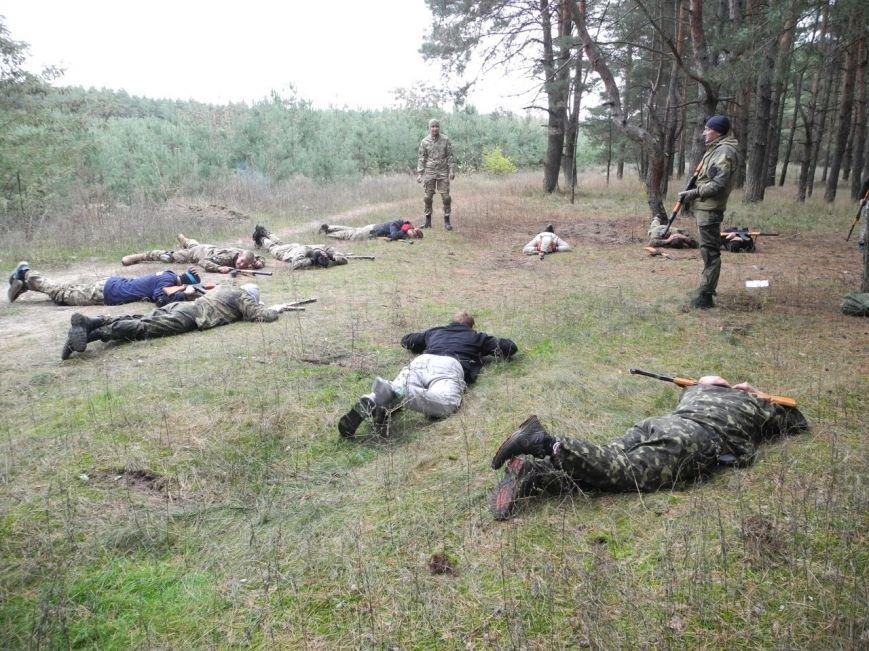 Гражданский Корпус Азов начал сезон военных учений (ФОТО), фото-3