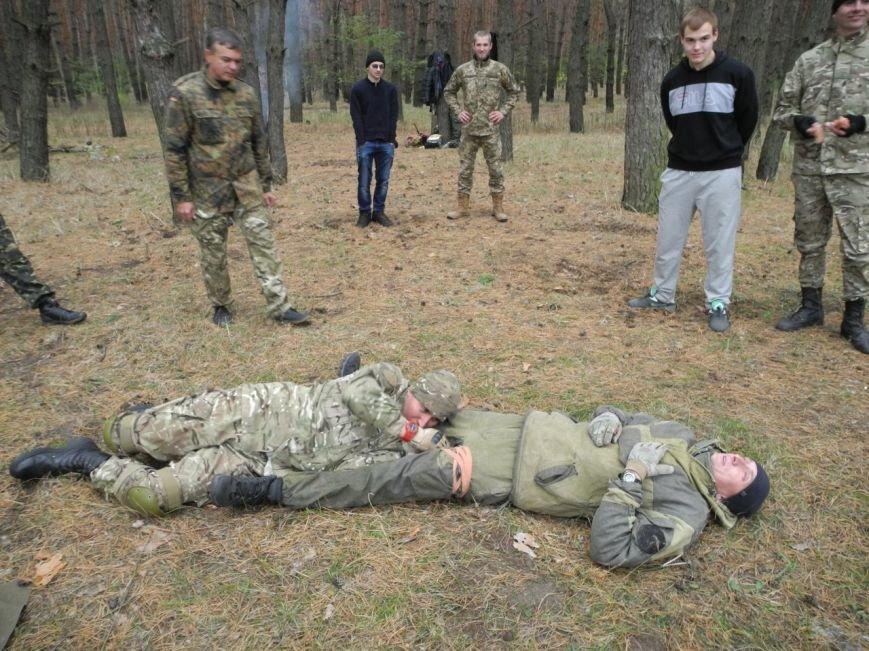 Гражданский Корпус Азов начал сезон военных учений (ФОТО), фото-10