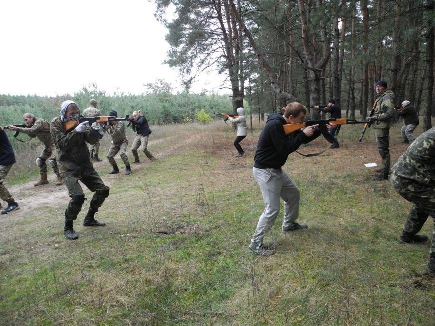Гражданский Корпус Азов начал сезон военных учений (ФОТО), фото-9