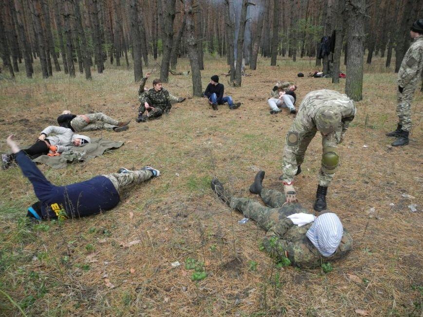 Гражданский Корпус Азов начал сезон военных учений (ФОТО), фото-5