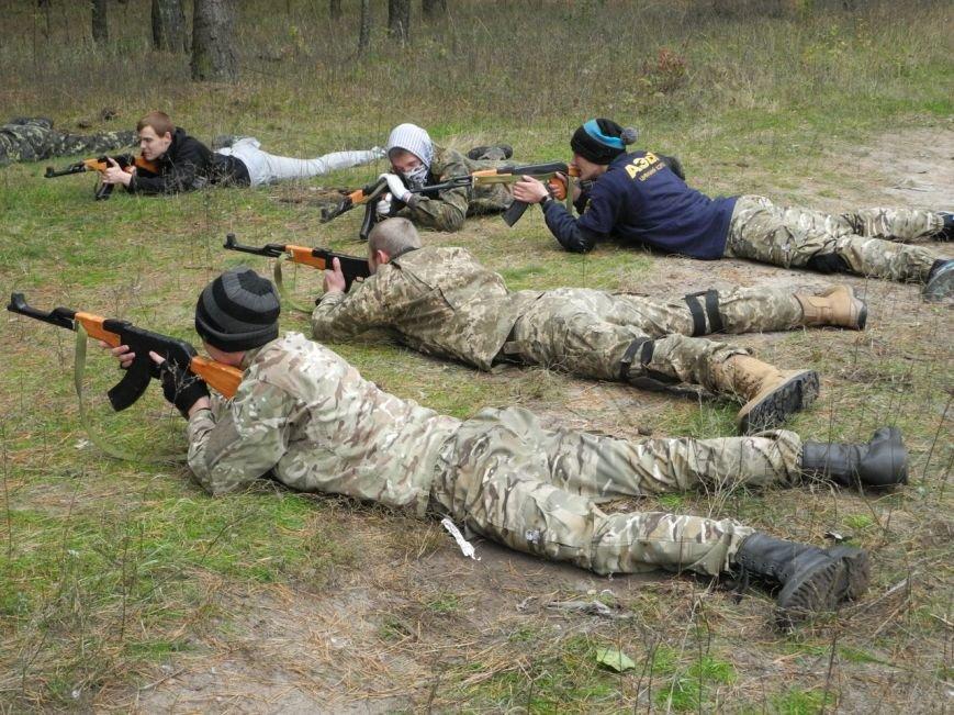 Гражданский Корпус Азов начал сезон военных учений (ФОТО), фото-2