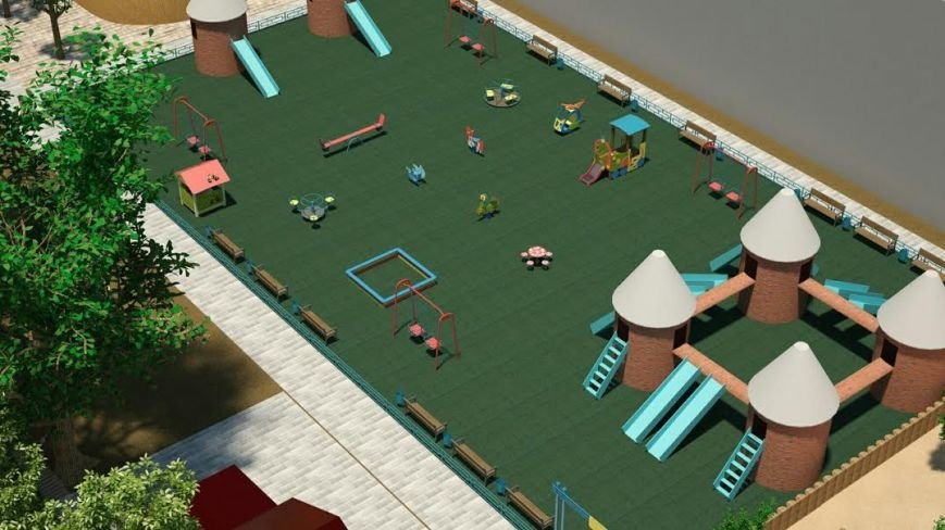 реконструкция парк21