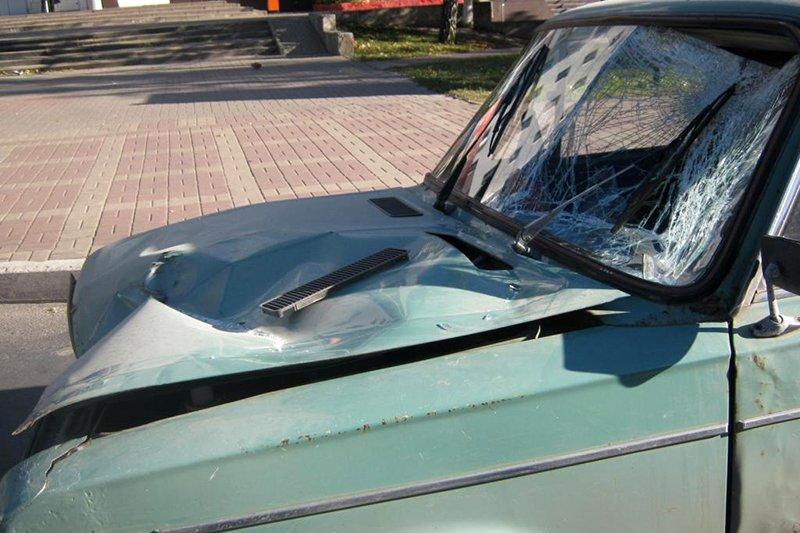 90-летний шофёр на«Матизе» сбил мужчину вПрохоровке