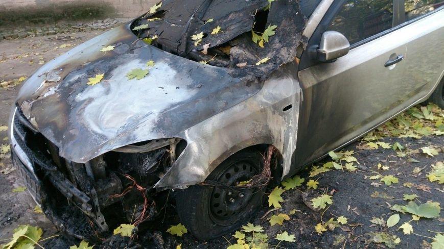 В Каменском горел автомобиль KIA Ceed, фото-3