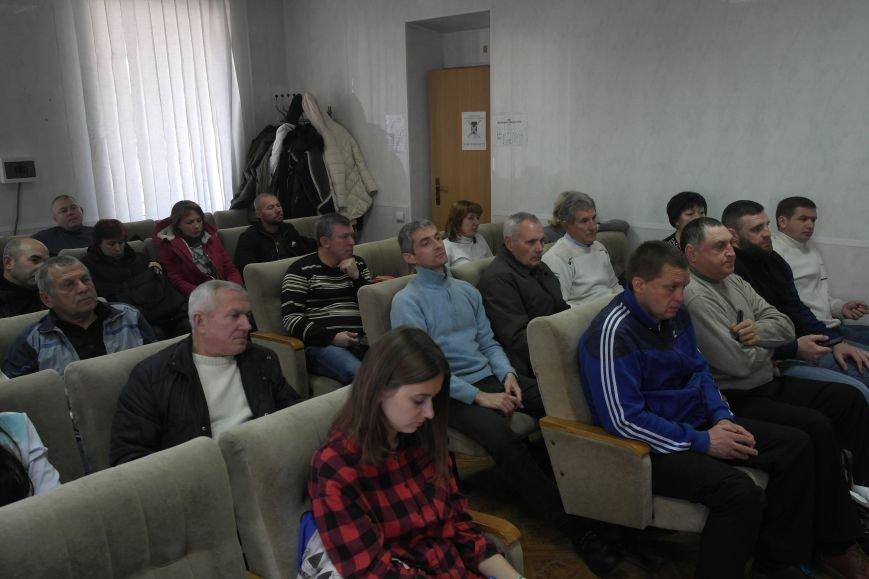 В Покровске обсуждали спортивную жизнь города, фото-2