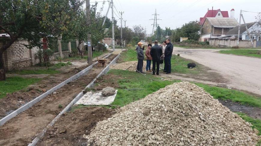 В Херсоне на Северном ремонтируют тротуары (фото), фото-1