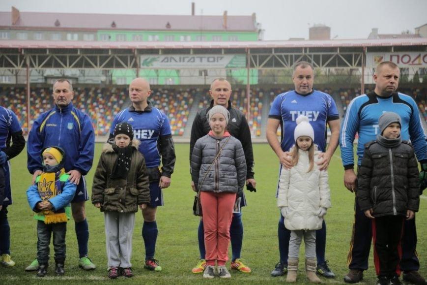 Футболісти ТНЕУ зіграли з гравцями національної  збірної України серед ветеранів, фото-2