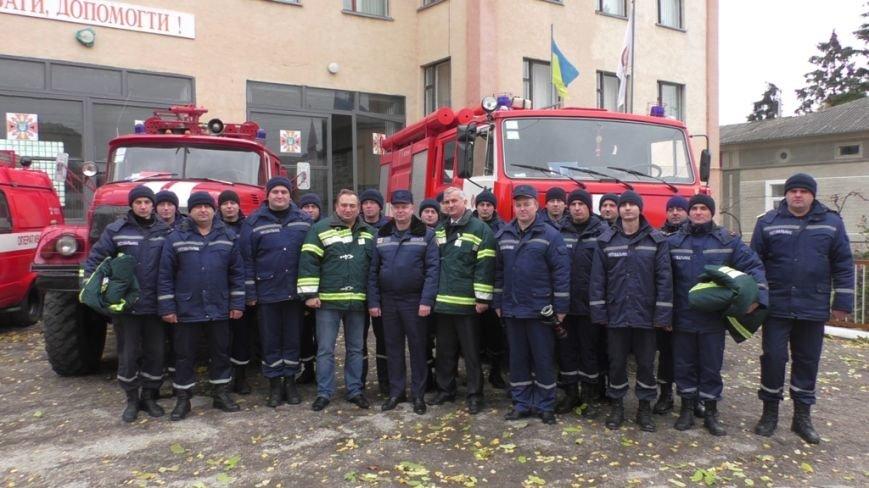 Буковинським вогнеборцям вручили нове спорядження (ФОТО), фото-3