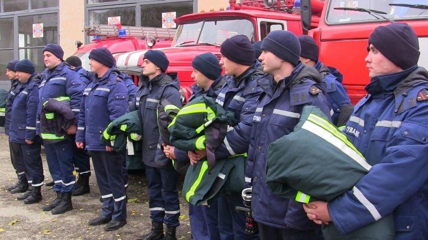 Буковинським вогнеборцям вручили нове спорядження (ФОТО), фото-2