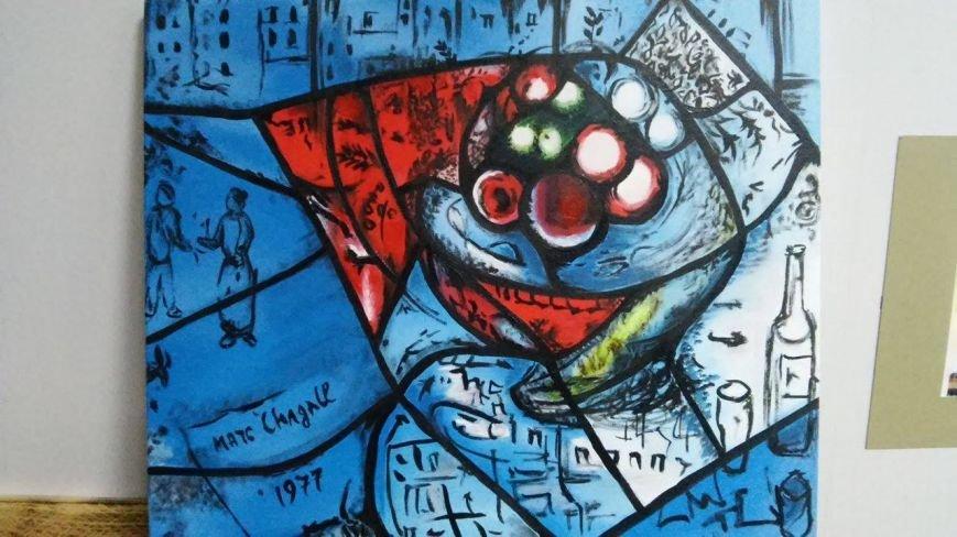 В Мариуполе можно увидеть кусочек «Окон Америки» Шагала, фото-2