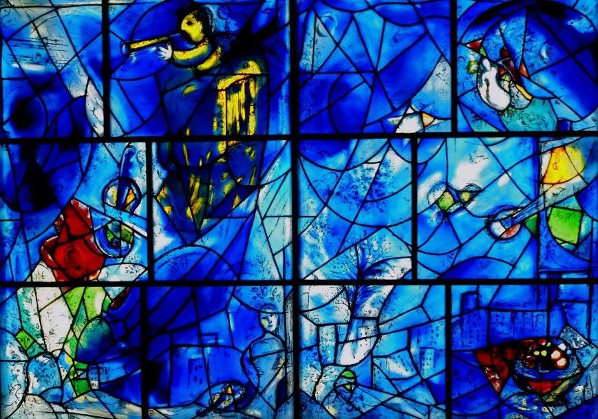 В Мариуполе можно увидеть кусочек «Окон Америки» Шагала, фото-1