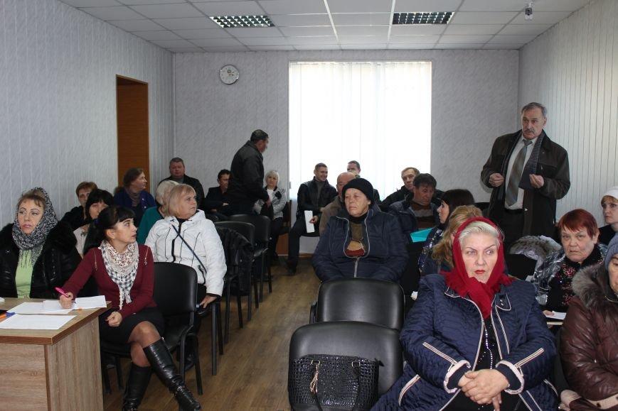 Жители Доброполья голосуют за объединение громад, фото-1