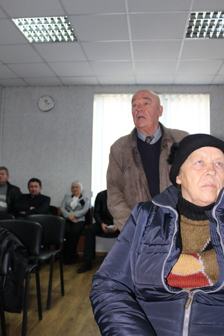 Жители Доброполья голосуют за объединение громад, фото-3