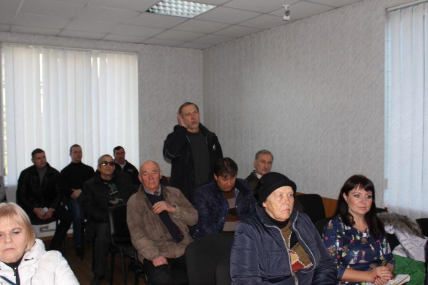 Жители Доброполья голосуют за объединение громад, фото-2