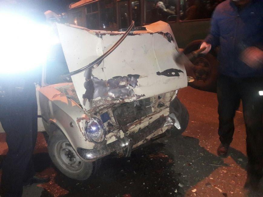 Авария на Роганской: виновник скрылся с места ДТП (ФОТО), фото-1