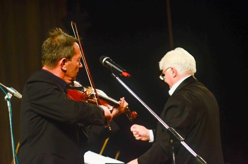 Кременчужане аплодировали стоя симфоническому оркестру Полтавского академического областного украинского музыкально-драматического театра и..., фото-6