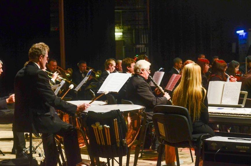 Кременчужане аплодировали стоя симфоническому оркестру Полтавского академического областного украинского музыкально-драматического театра и..., фото-4