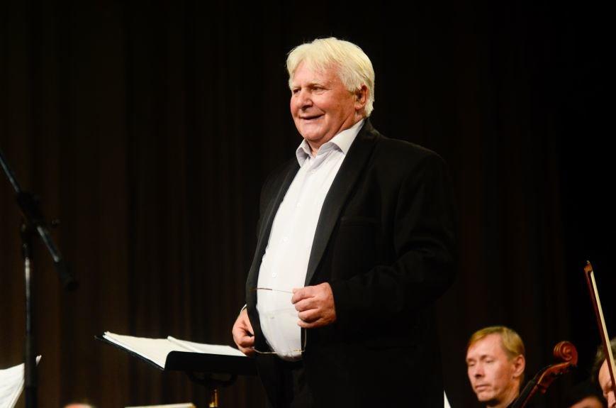 Кременчужане аплодировали стоя симфоническому оркестру Полтавского академического областного украинского музыкально-драматического театра..., фото-11