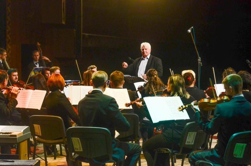Кременчужане аплодировали стоя симфоническому оркестру Полтавского академического областного украинского музыкально-драматического театра и..., фото-7