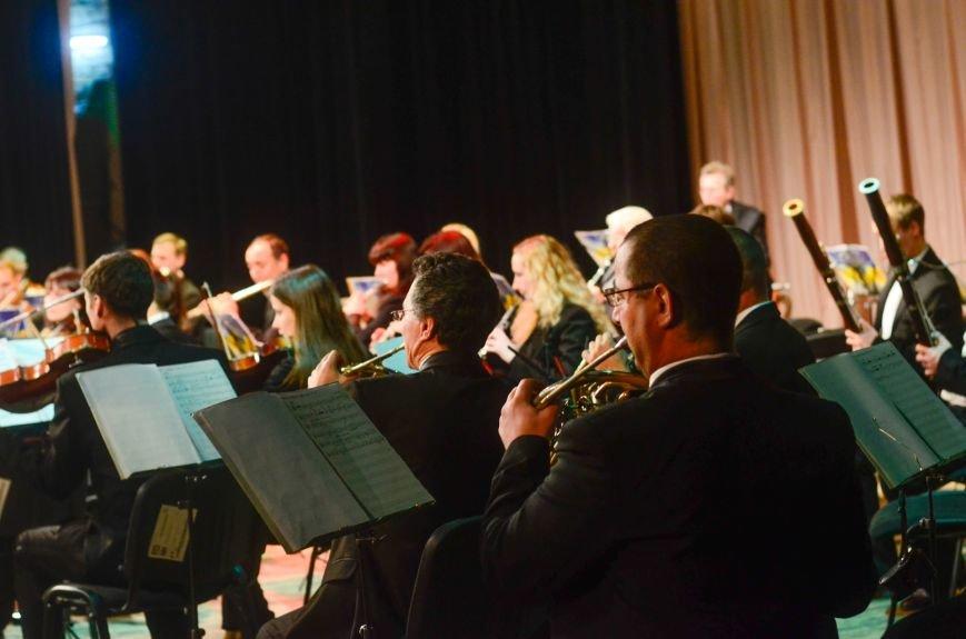 Кременчужане аплодировали стоя симфоническому оркестру Полтавского академического областного украинского музыкально-драматического театра и..., фото-8