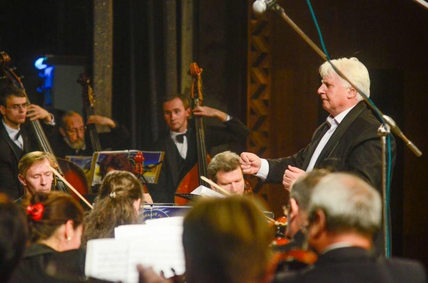 Кременчужане аплодировали стоя симфоническому оркестру Полтавского академического областного украинского музыкально-драматического театра и..., фото-9