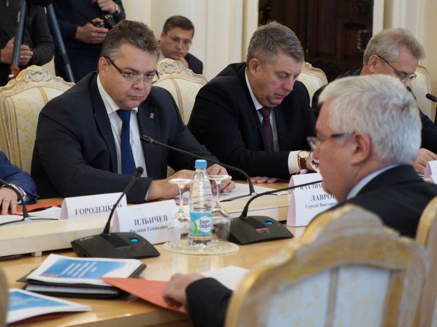 Губернатор Ставрополья принял участие Совета глав регионов при МИД РФ, фото-2