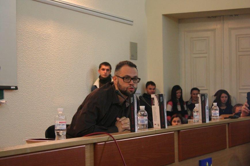 """Оксана Забужко в Запорожье презентовала свою новую книгу """"І знов я влізаю в танк"""", - ФОТОРЕПОРТАЖ, фото-9"""
