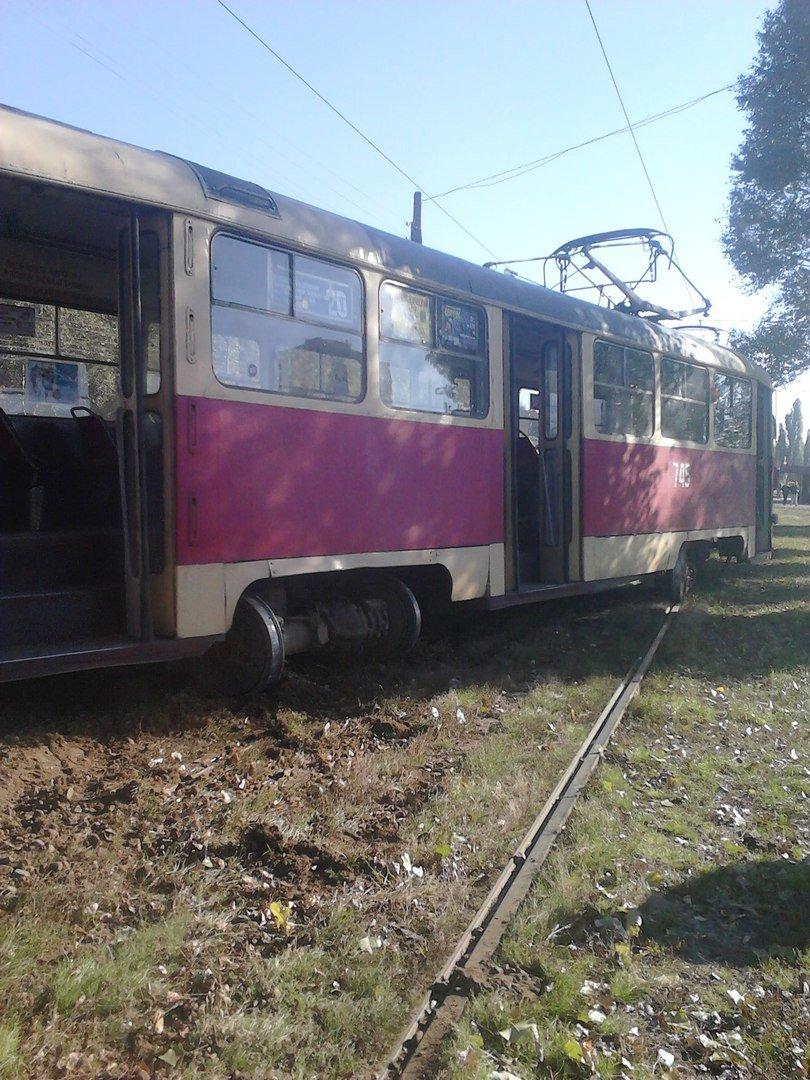 """На Клочковской очередной """"трамвайный дрифт"""" (ФОТО), фото-1"""