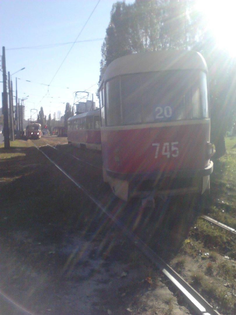"""На Клочковской очередной """"трамвайный дрифт"""" (ФОТО), фото-2"""