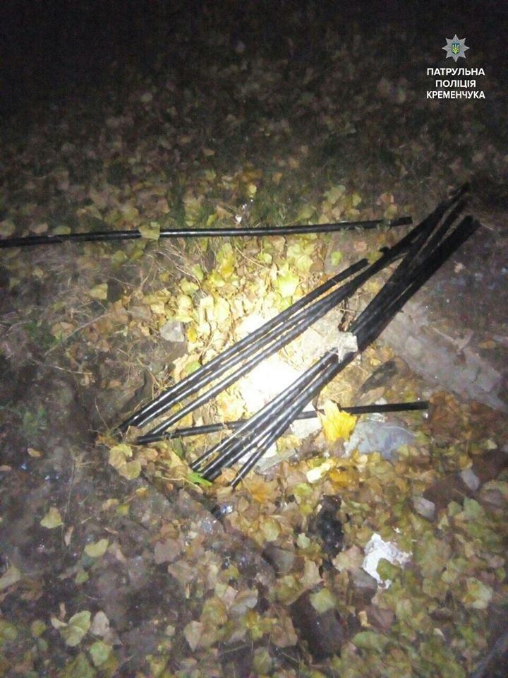 """В Кременчуге полиция задержала сразу двух """"кабельных воров"""" (ФОТО), фото-3"""