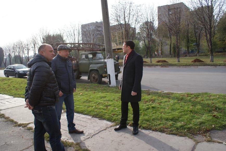 В Каменском завершился капремонт освещения на проспекте Аношкина, фото-2