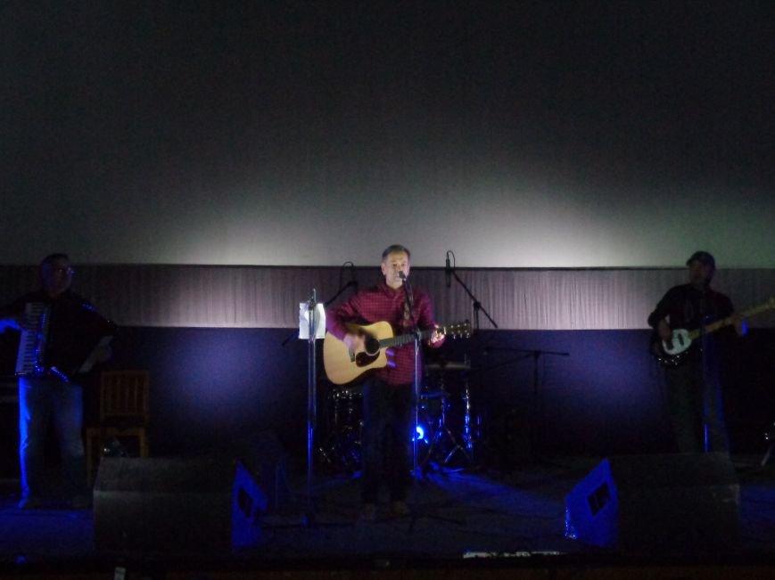 Алексей Горбунов в Днепре пел песни Окуджавы и рассказывал, что любит играть отрицательных героев (ФОТО, ВИДЕО), фото-1