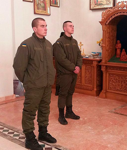 Нацгвардейцы посетили храм в Покровске, фото-2