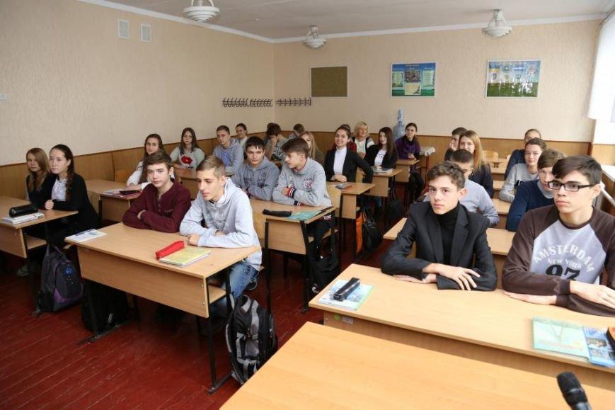 Как мэр Кременчуга на один урок стал учителем, фото-2