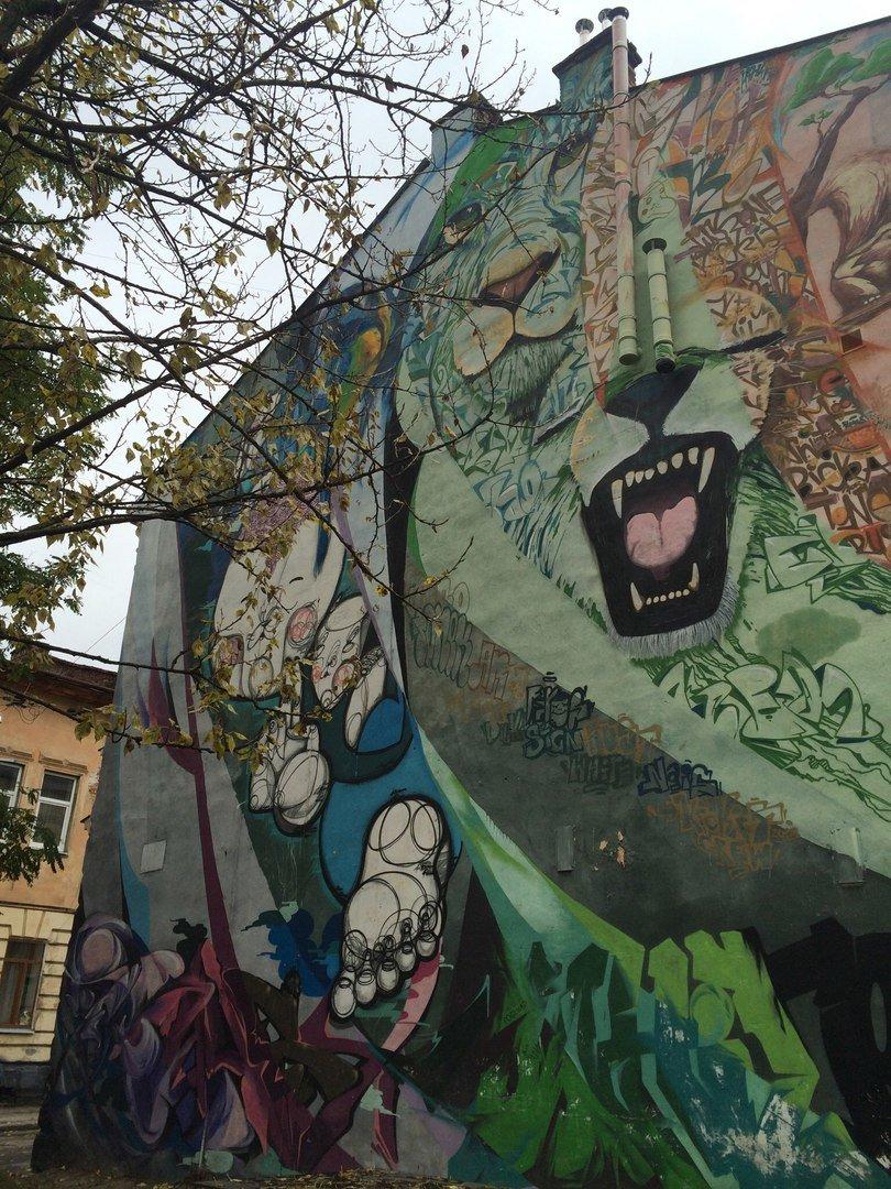 Львівський стріт-арт: графіті Львова, які вражають (ФОТО), фото-11