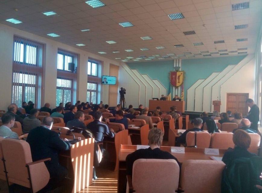 Как проходит сессия горсовета в Каменском (Обновляется), фото-1