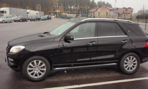 При въезде в страну у белоруса конфисковали Mercedes-Benz ML350: оказалось, месяц назад машину поставили в Германии на учет как краденую, фото-1