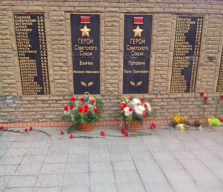 В Доброполье возложили цветы в честь освобождения от фашистских захватчиков, фото-3