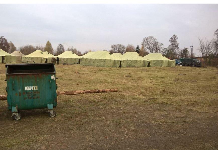 На Сумщине участников АТО поселили в палатках (ФОТО), фото-5