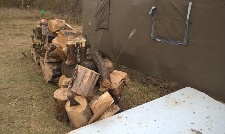 На Сумщине участников АТО поселили в палатках (ФОТО), фото-4