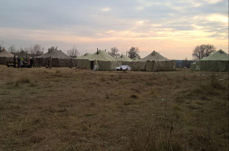На Сумщине участников АТО поселили в палатках (ФОТО), фото-2