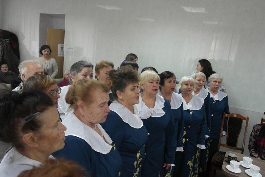 Ветераны Покровска собрались за праздничным чаепитием, фото-9