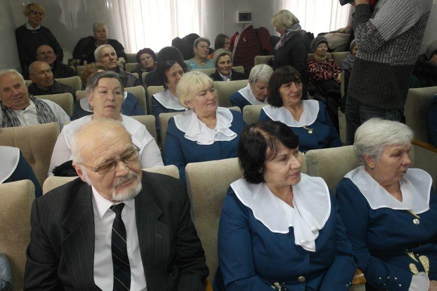 Ветераны Покровска собрались за праздничным чаепитием, фото-13