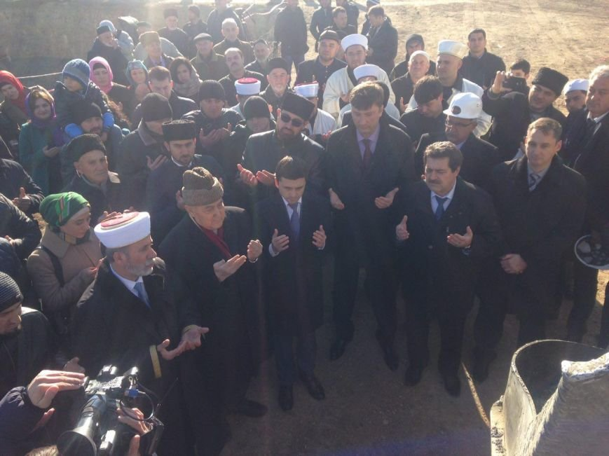 В Крыму заложили фундамент будущей Соборной мечети (ФОТОФАКТ), фото-4